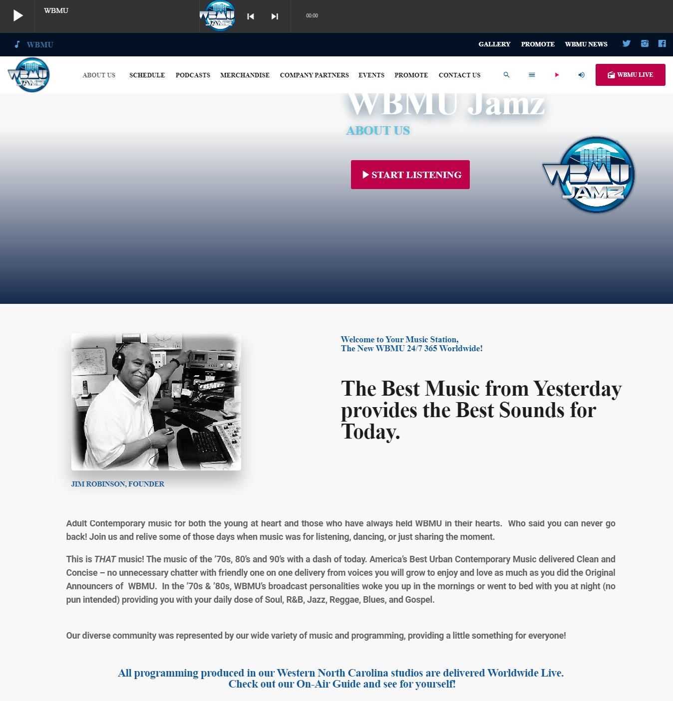 WBMU-Jamz - About us